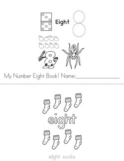 My Number Eight Book