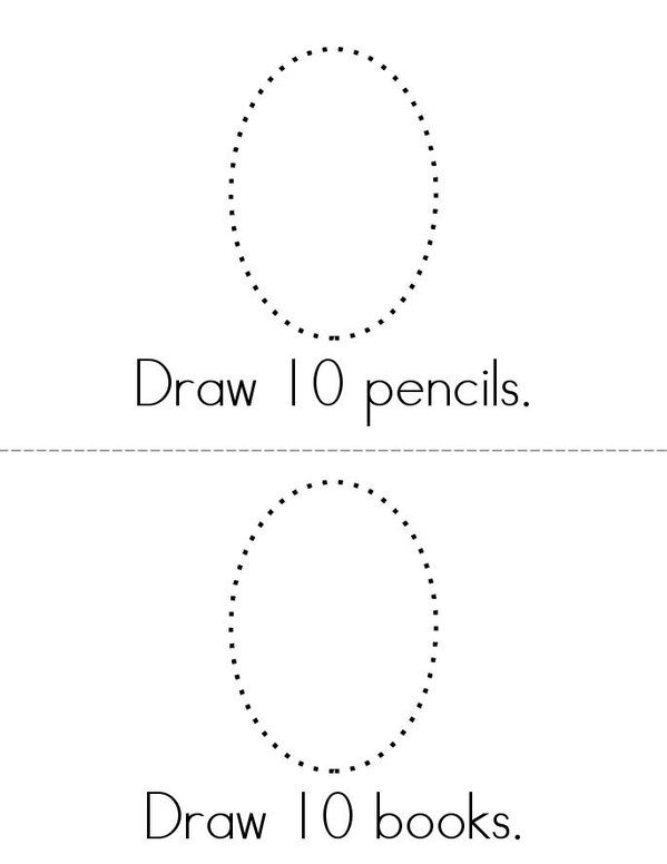 100 book Mini Book - Sheet 3