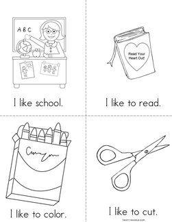 I Like School! Book