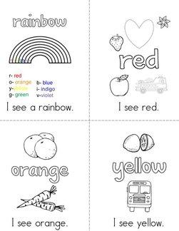 Rainbows Book