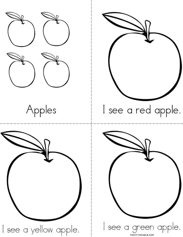 Apples Mini Book