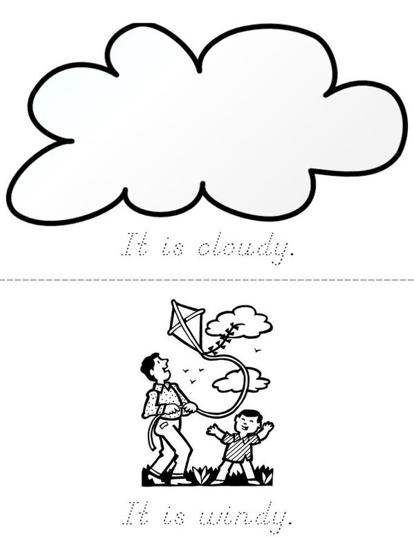 Weather Mini Book - Sheet 2