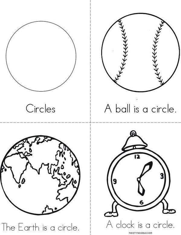 circle Mini Book