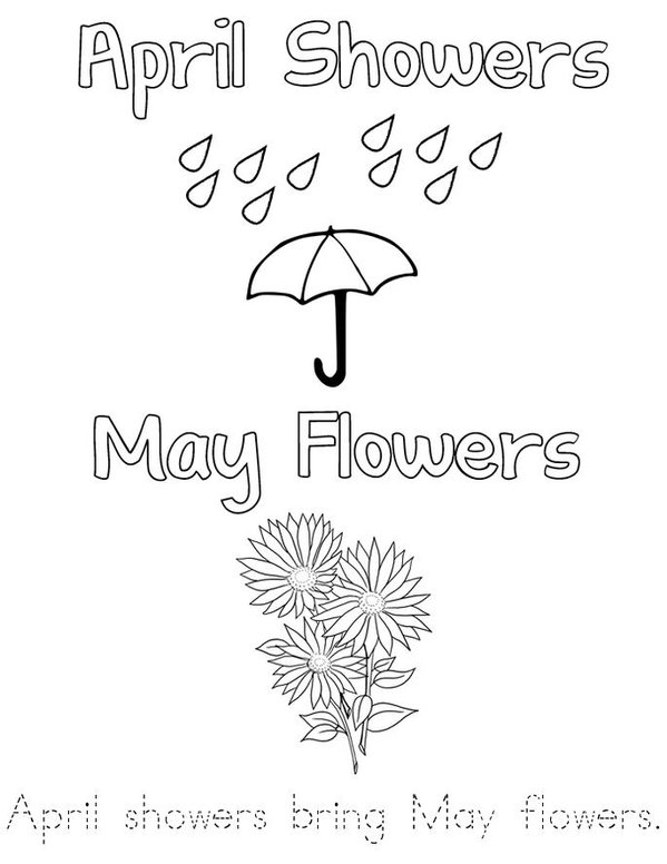 Spring Theme Coloring Pages For Toddlers PreK