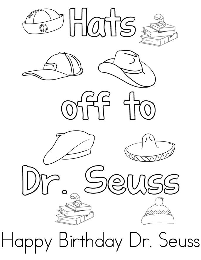 Happy Birthday Dr Seuss Book
