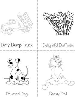 D Adjectives Book