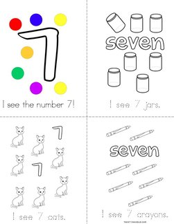 I See the Number 7! Book