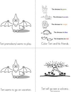 Teri pterodactyl Book