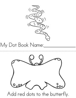 Add dots to the pictures. Book