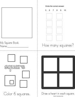 I Love Squares! Book