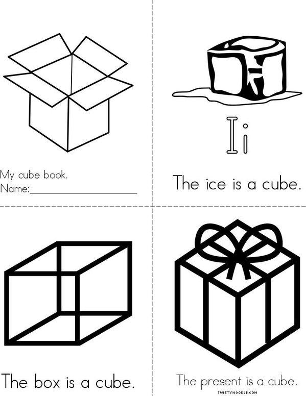 Cube Mini Book