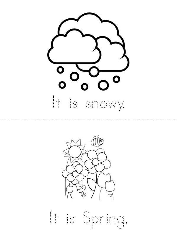 My Weather Book Mini Book - Sheet 4