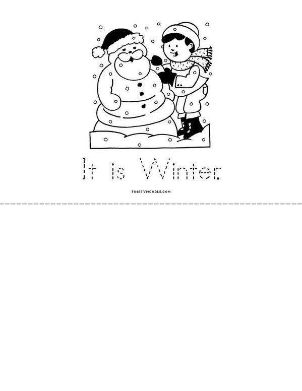 My Weather Book Mini Book - Sheet 6