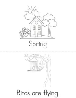 Spring is here! Book