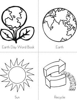 Earth Day Word Book