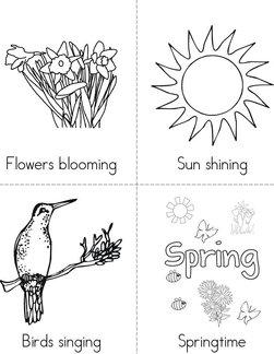 Spring Time Book