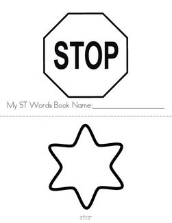 ST Words Book