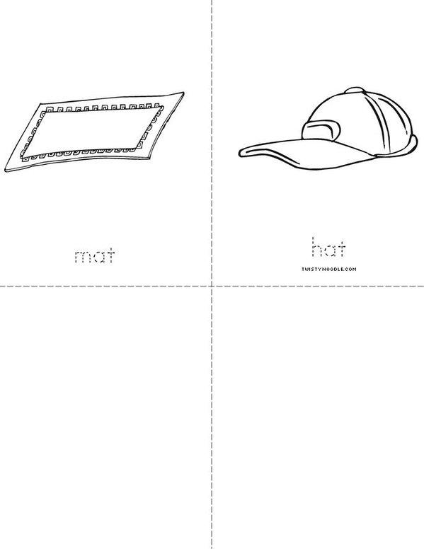 Word Family --at Mini Book - Sheet 2