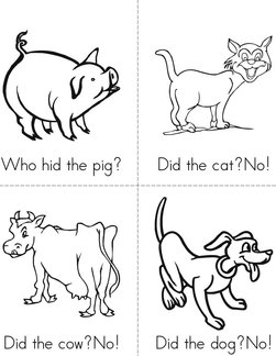 Who Hid the Pig? Book