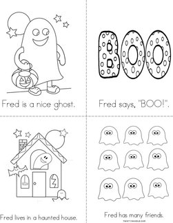 Fred the Friendly Ghost Book