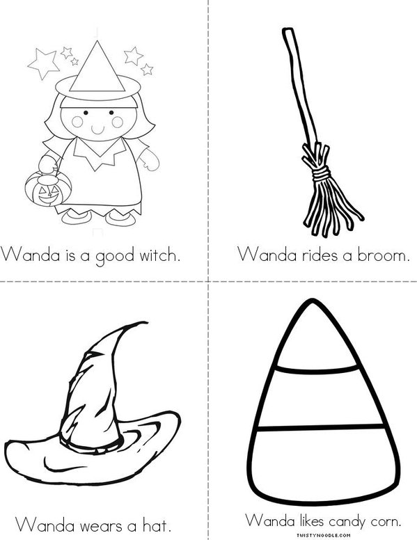 Wanda the Witch Mini Book