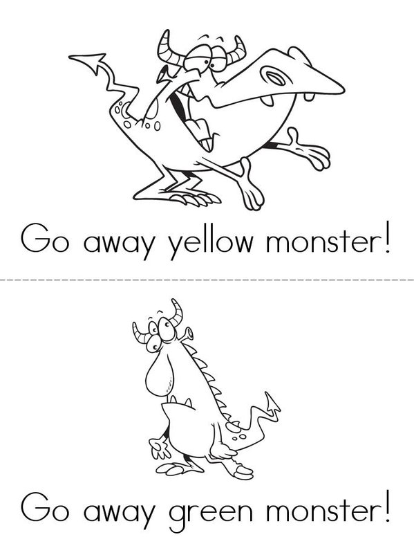 gonoodle monsters coloring pages - photo#10