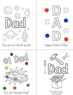# 1 Dad! Book