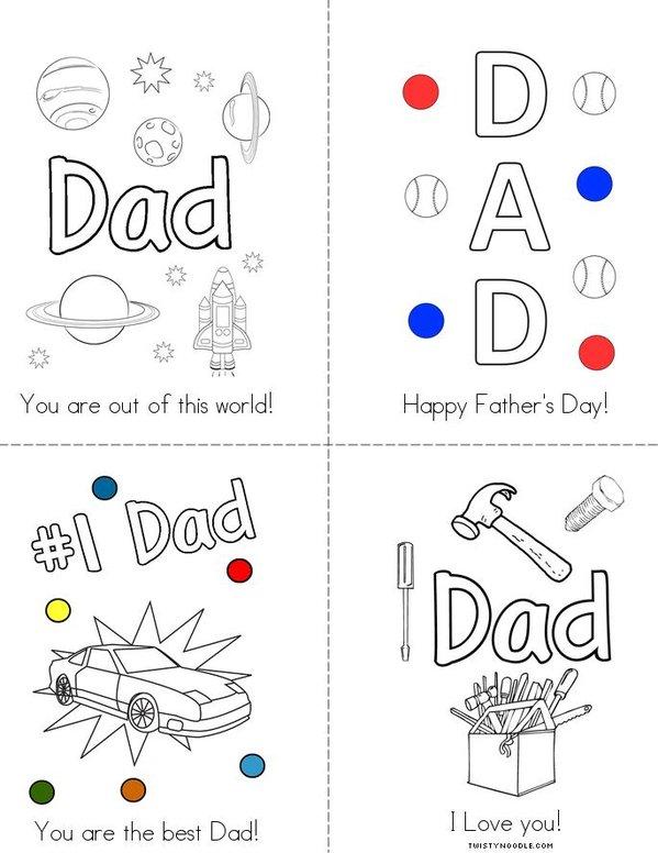 # 1 Dad! Mini Book