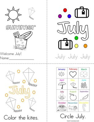 Welcome July! Book