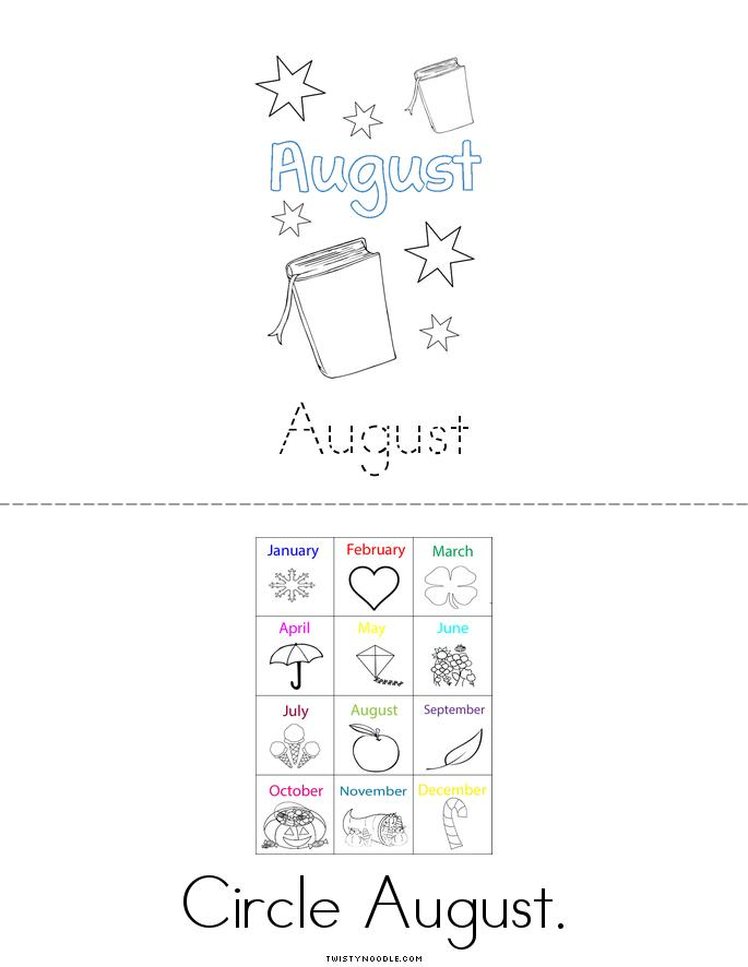 August Book - Twisty Noodle