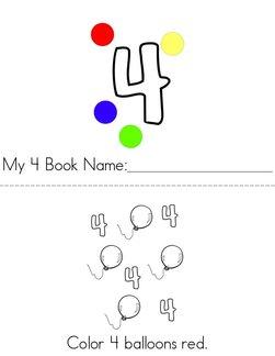 My 4 Book
