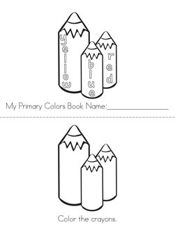 My Primary Colors Book
