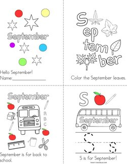 Hello September! Book