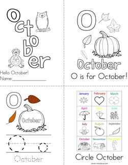 Hello October! Book