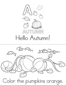 Hello Autumn! Book