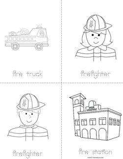 Fire Safety Words Book