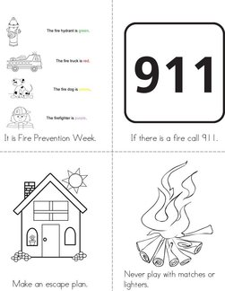 Fire Prevention Week Book