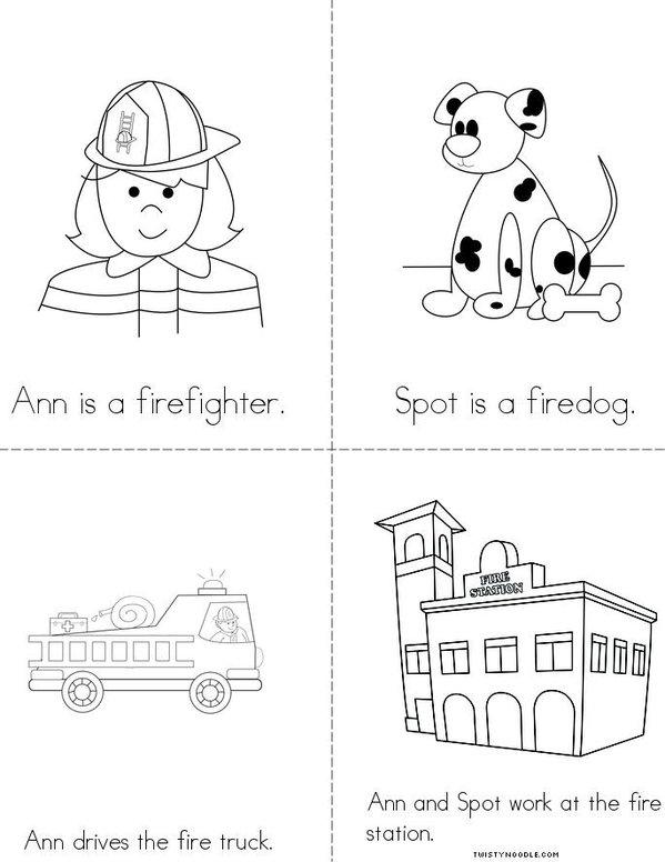 Ann and Spot Mini Book