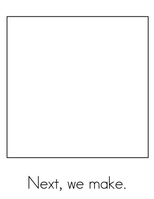 I Can Make a Gingerbread Man! Mini Book - Sheet 3