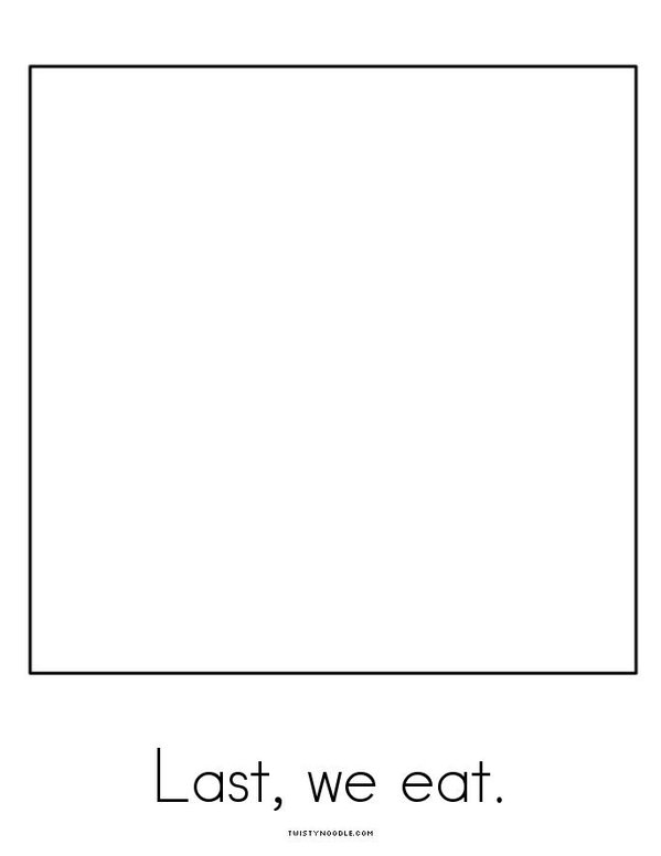 I Can Make a Gingerbread Man! Mini Book - Sheet 5