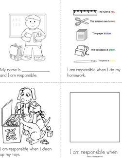 I am responsible!  Book
