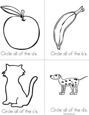 a,b,c,d Book