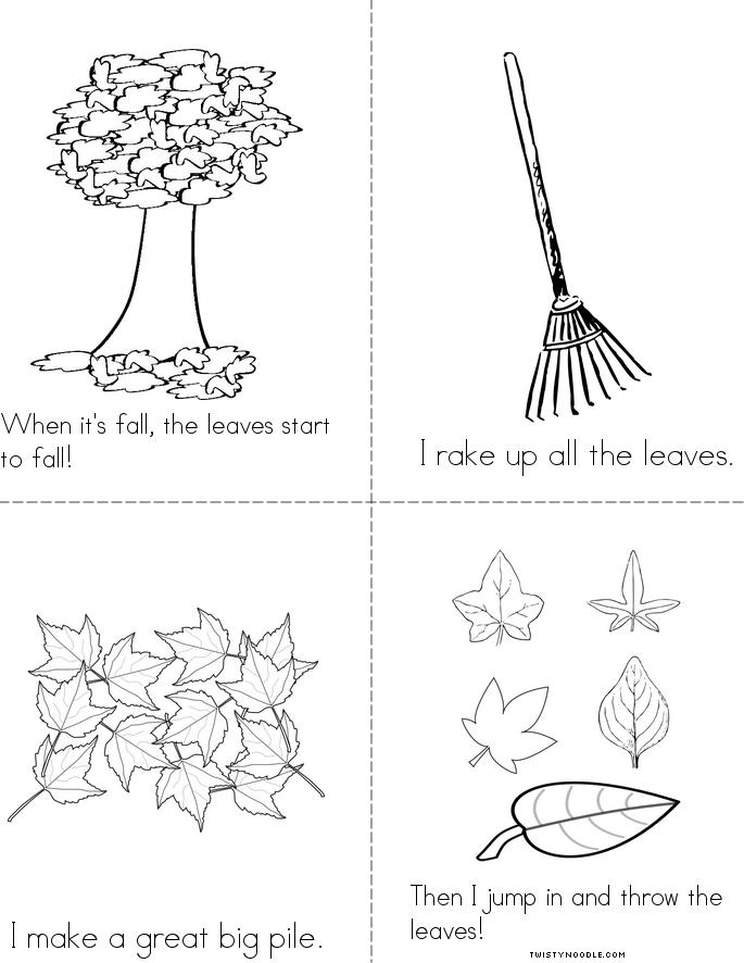 I Love Leaves Book Twisty Noodle