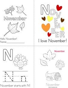 Hello November! Book