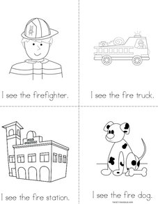 I See the Firefighter Book