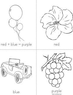 Red + Blue = Purple Book
