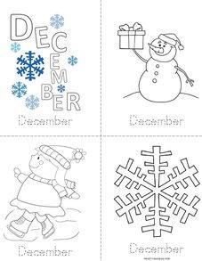 Practice writing December Book