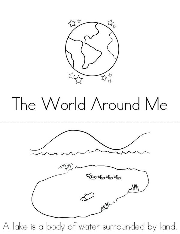 Pin landform coloring pages on pinterest for Landforms coloring pages