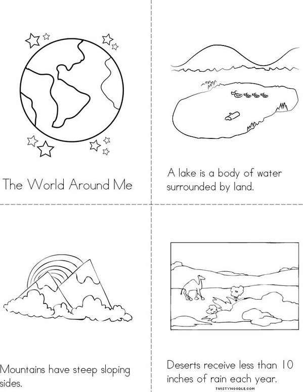 Pin Landform Coloring Pages On Pinterest Landforms Coloring Pages