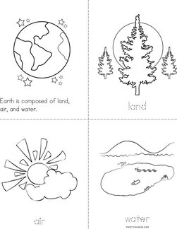 Land, Air, and Water Book
